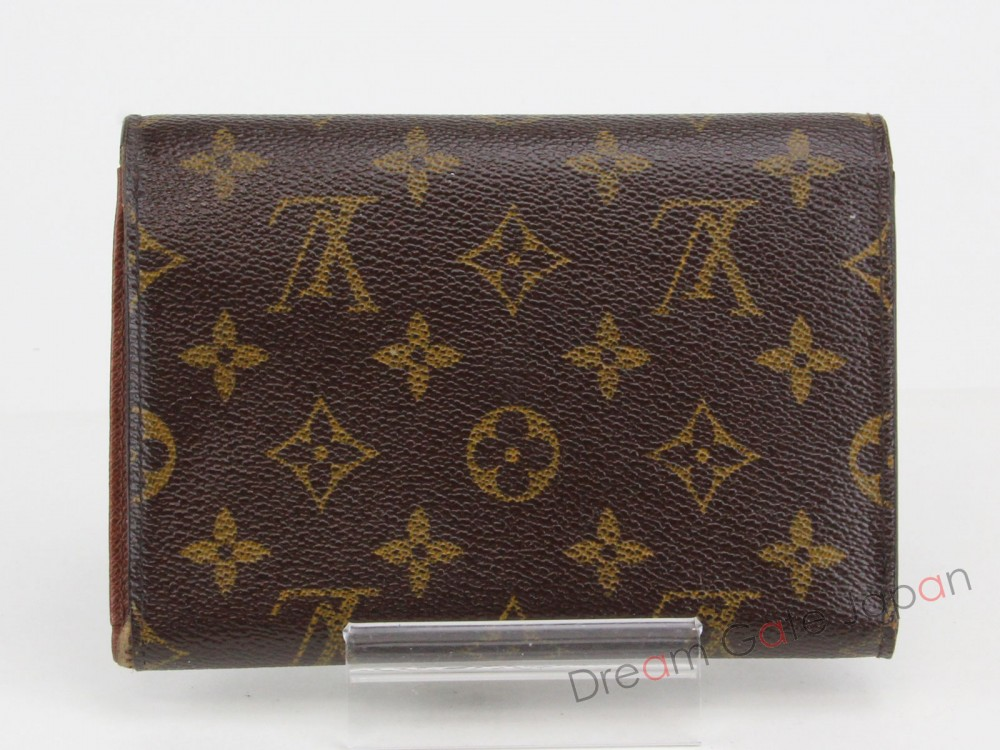 authentic louis vuitton monogram porte tresor etui papiers. Black Bedroom Furniture Sets. Home Design Ideas