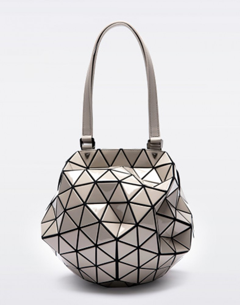 bao bao issey miyake planet 2way bag gray baobao from japan new ebay. Black Bedroom Furniture Sets. Home Design Ideas