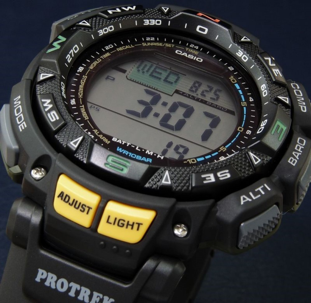 casio protrek tough solar manual pdf