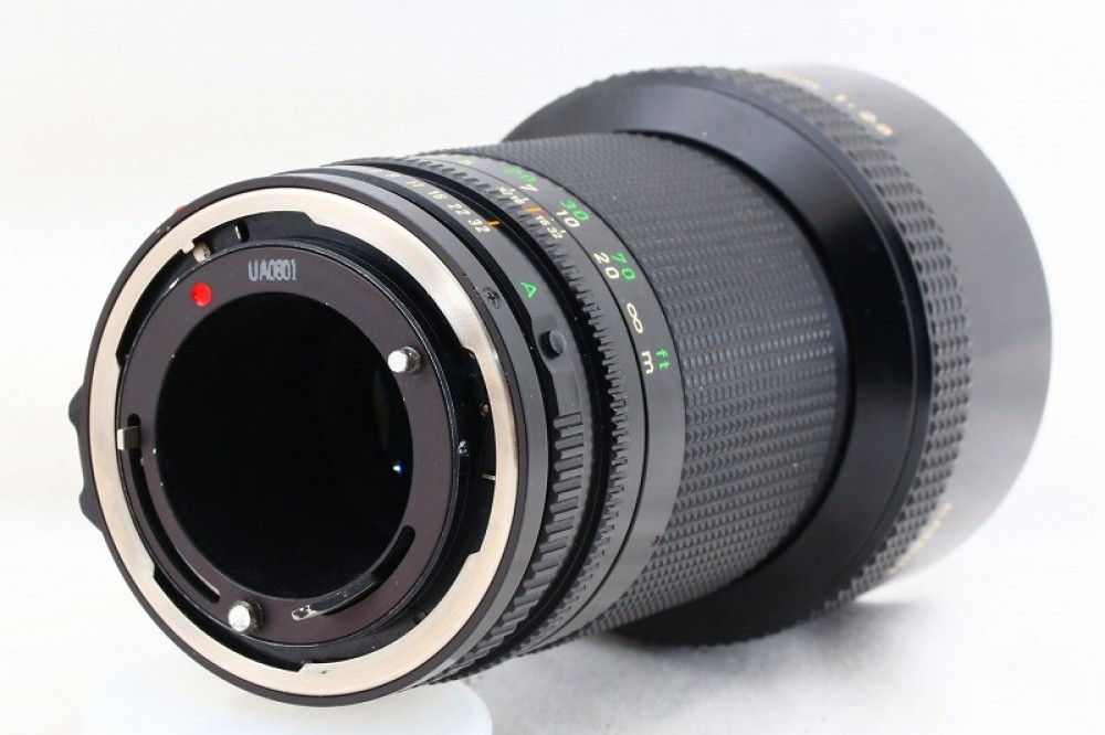 Canon New FD 200mm F2.8 MF Lens NFD from Japan made in