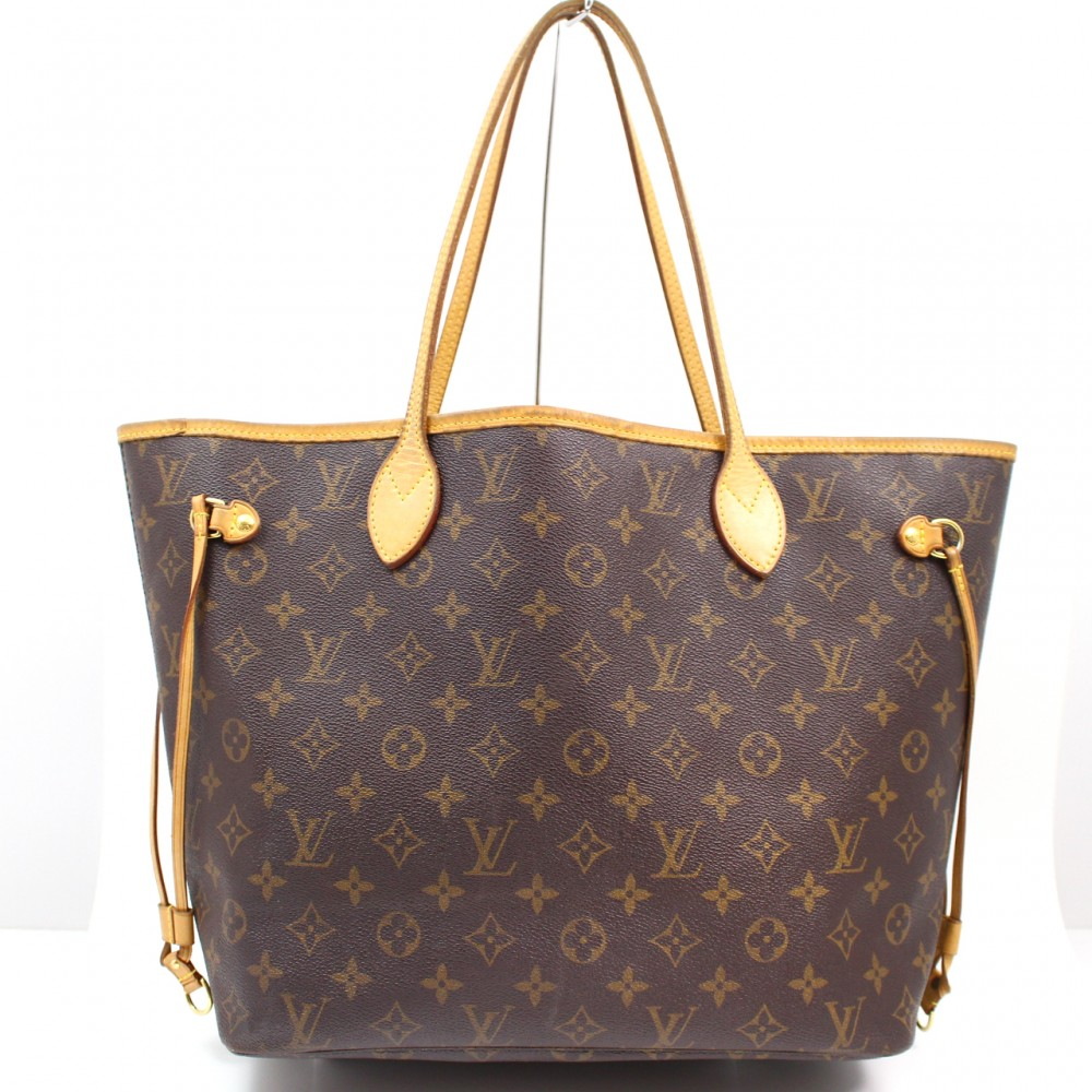 Sac Louis Vuitton Neverfull Mm : U authentic louis vuitton monogram neverfull mm hand tote shoulder bag
