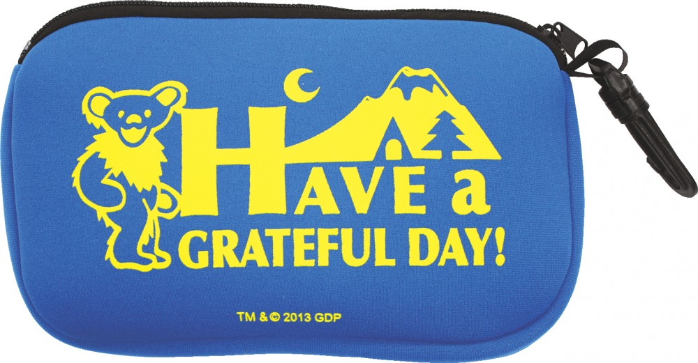 grateful dead have a grateful day bag pouch bag 2 colors ebay. Black Bedroom Furniture Sets. Home Design Ideas