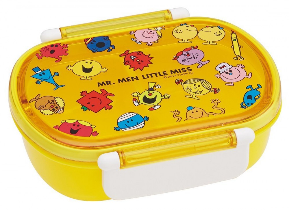 mr men little miss bento lunch box 360ml yellow from japan new ebay. Black Bedroom Furniture Sets. Home Design Ideas