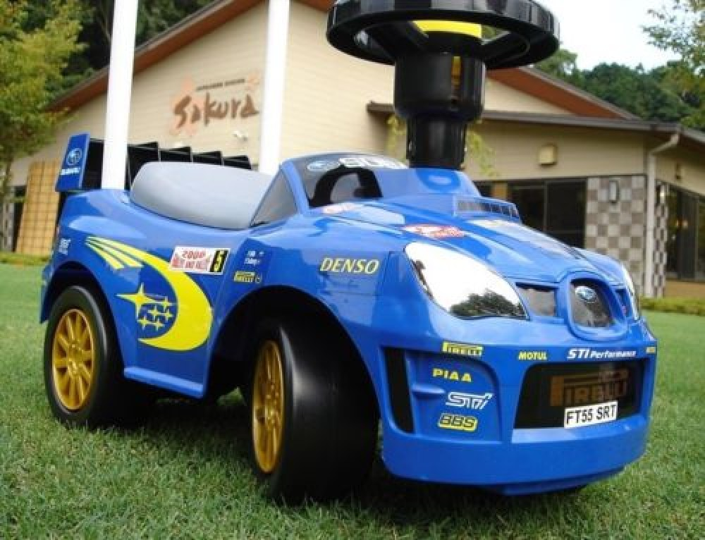 Ride On Cars For Kids: New Subaru IMPREZA WRC Ride-on Toy Car For Kids Japan