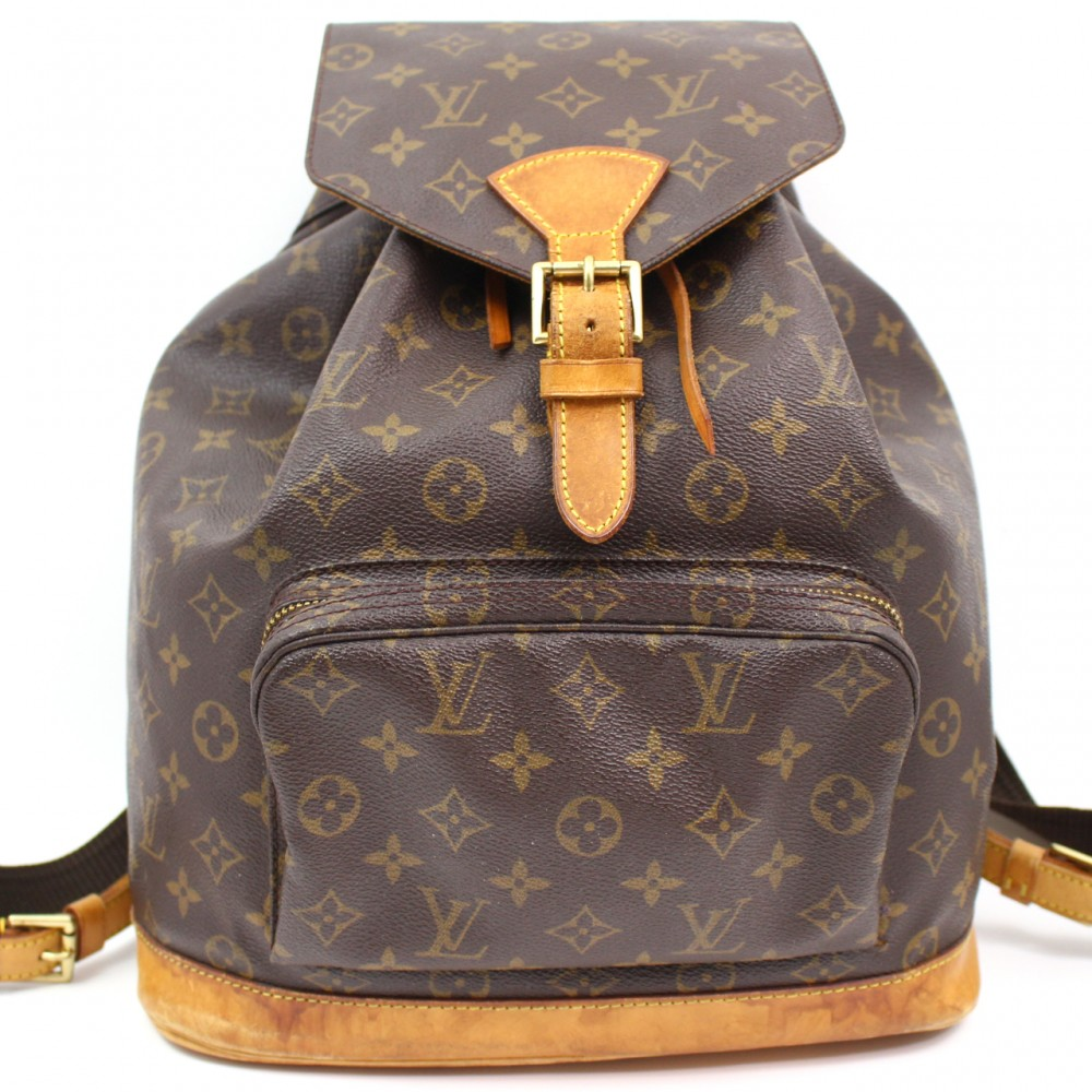 u1883 authentic louis vuitton montsouris gm big monogram