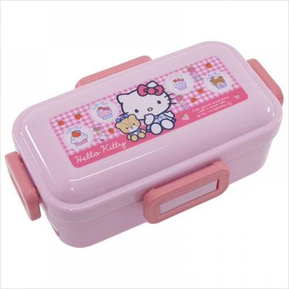 sanrio hello kitty japanese bento lunch box food container 400ml made in japan ebay. Black Bedroom Furniture Sets. Home Design Ideas
