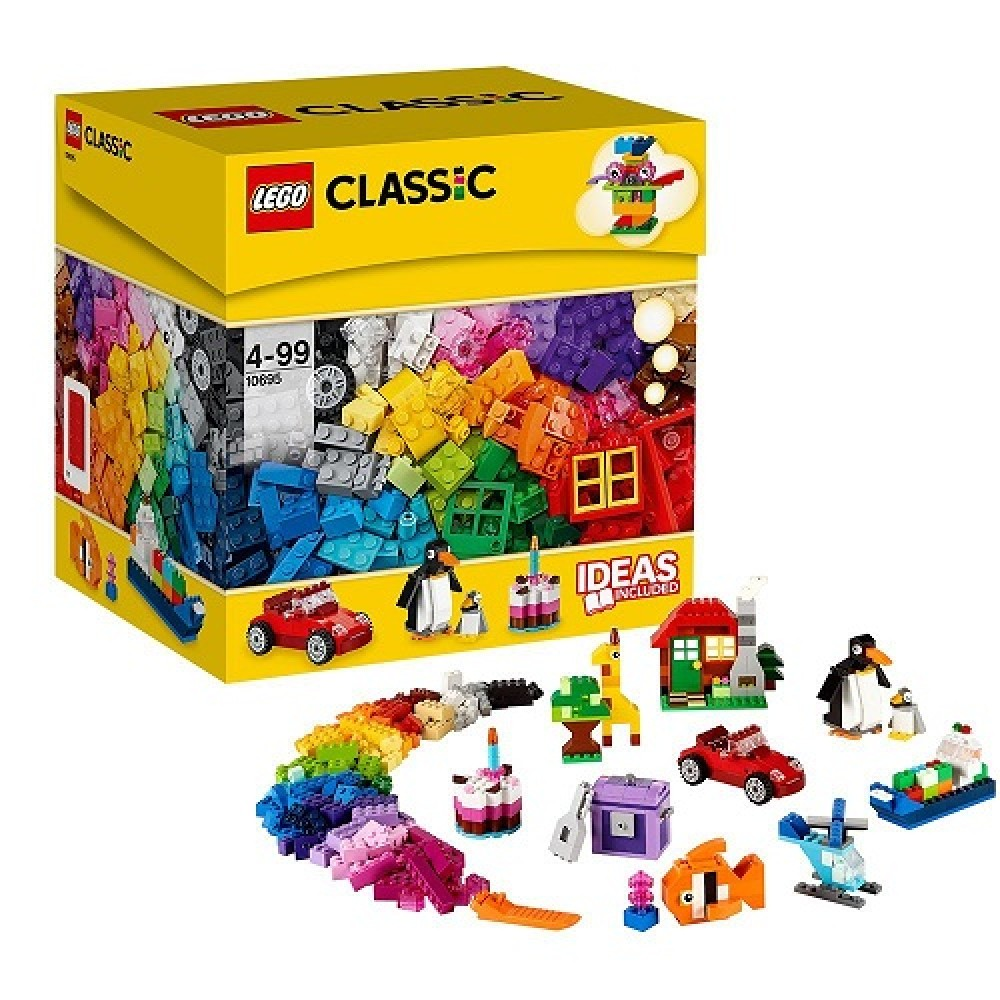 Lego classic idea parts special set 10695 from japan new for Jardin 7 colores