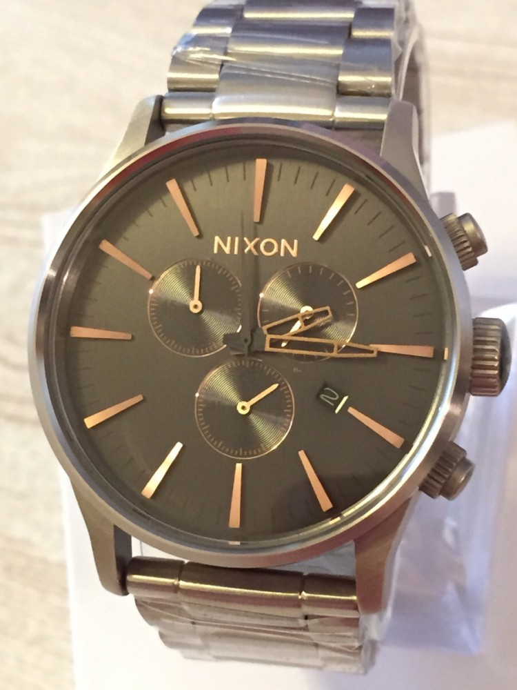 how to set nixon sentry chrono