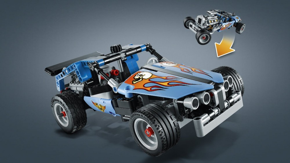 lego technic hot rod 42022 abs kit from japan new. Black Bedroom Furniture Sets. Home Design Ideas