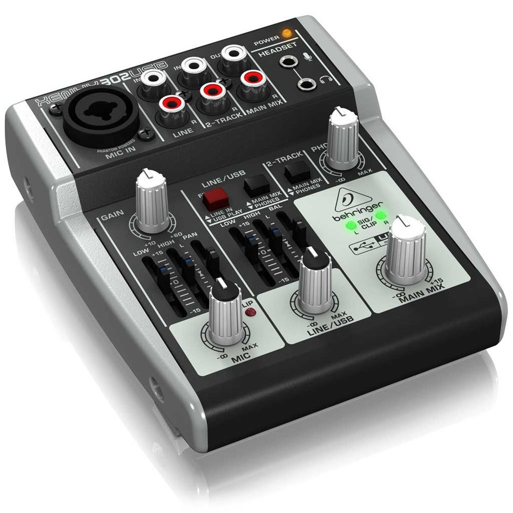 f s behringer 5 input mixer usb audio interface xenyx 302usb from japan ebay. Black Bedroom Furniture Sets. Home Design Ideas