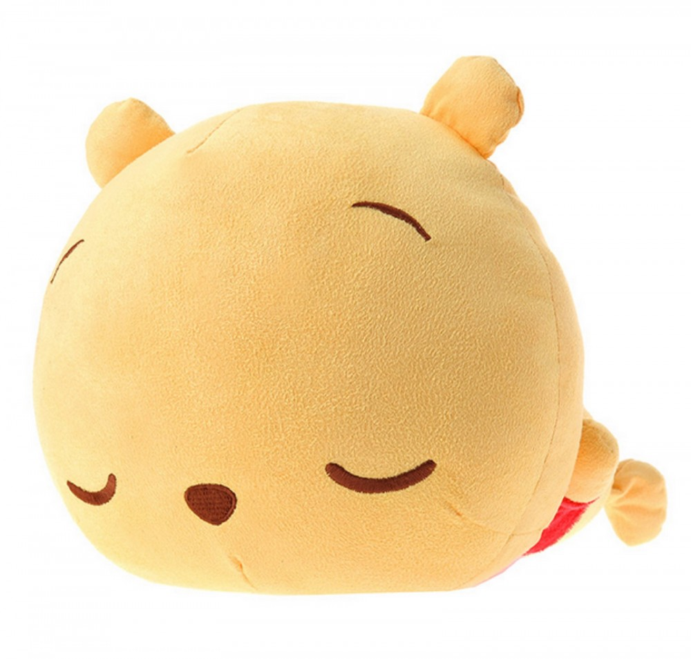Squishy Disney Toys : Sleeping Pooh Soft Plush Stuffed Toy Mochi Squishy Disney Store Japan eBay