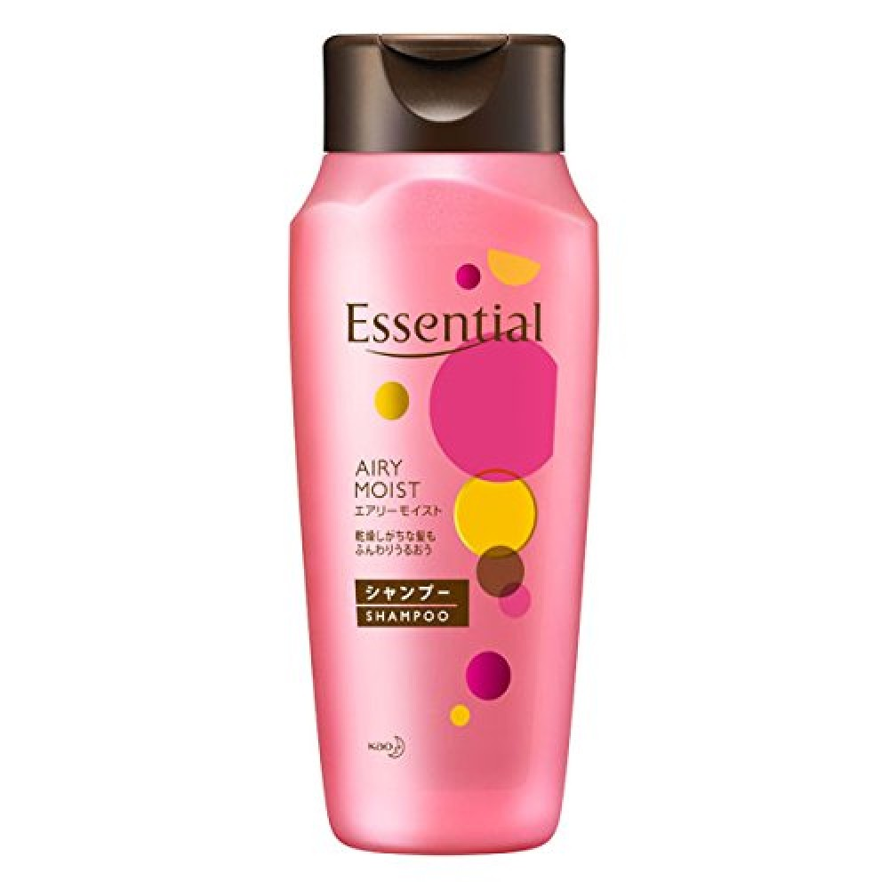 Kao Essential Shampoo Conditioner Rich Damage Hair Care