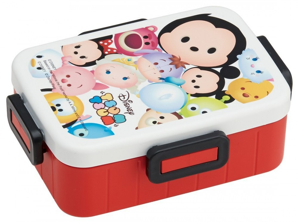 disney tsum tsum lunch box bento set cooler tote bag chopsticks fork spoon kawai ebay. Black Bedroom Furniture Sets. Home Design Ideas