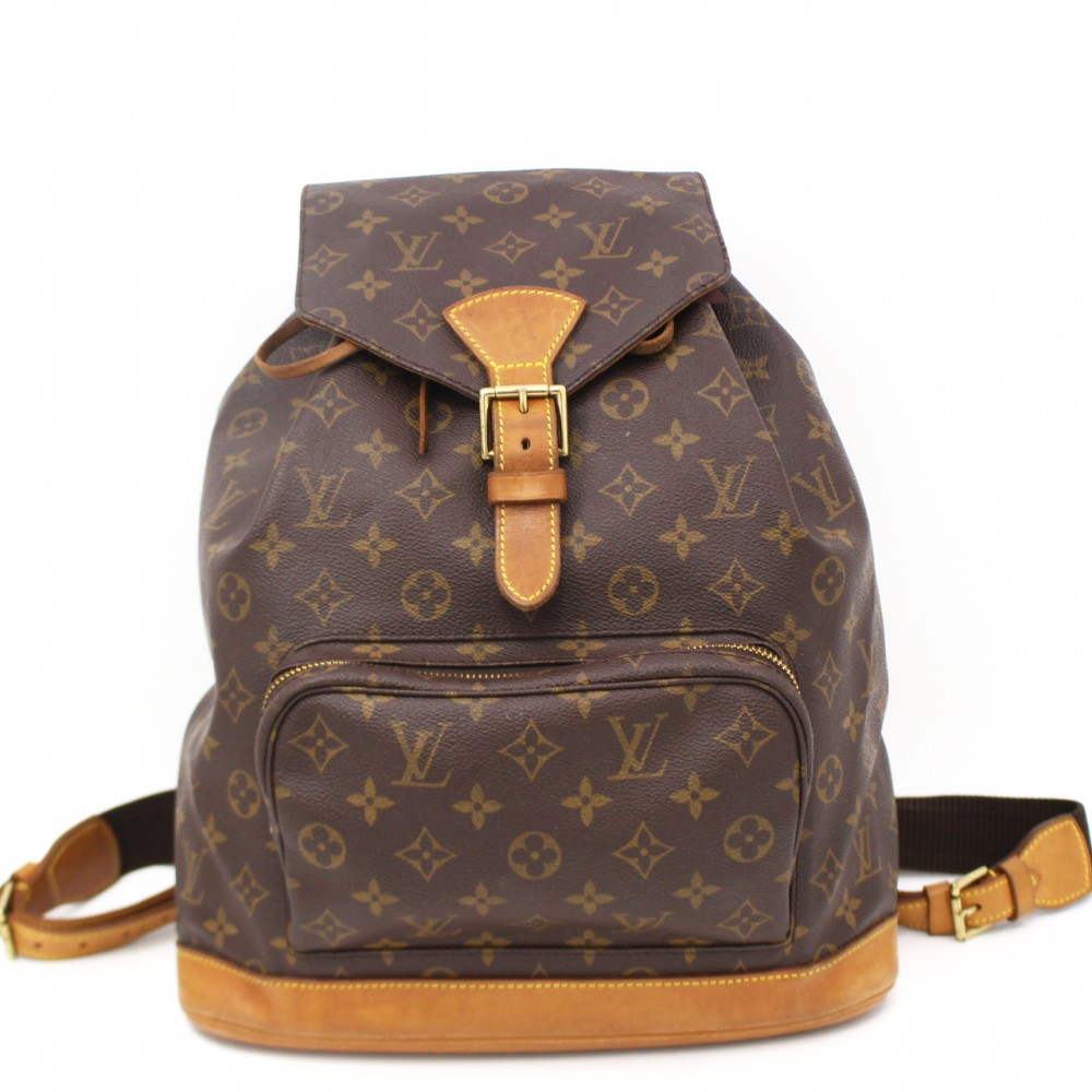 u2754g authentic louis vuitton montsouris gm big monogram