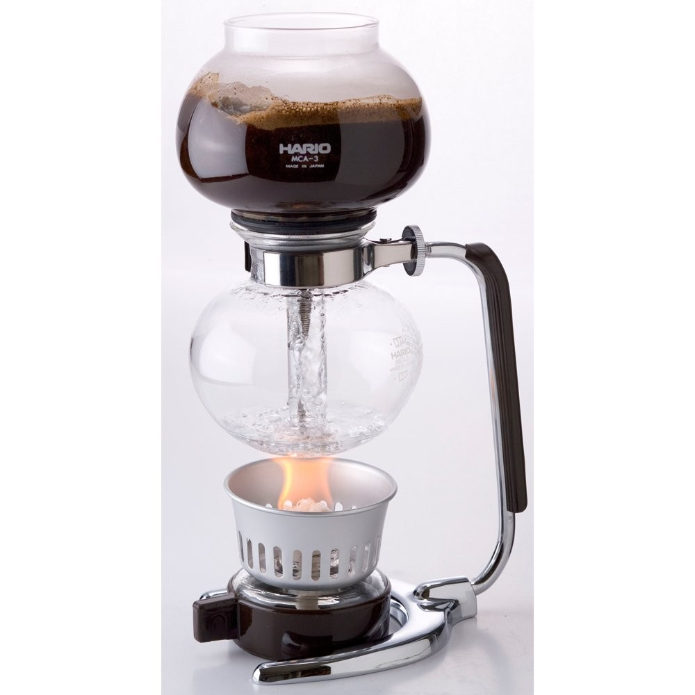 Italian Vacuum Coffee Maker : New HARIO Siphon Coffee Makers for 3 cups MCA-3 eBay