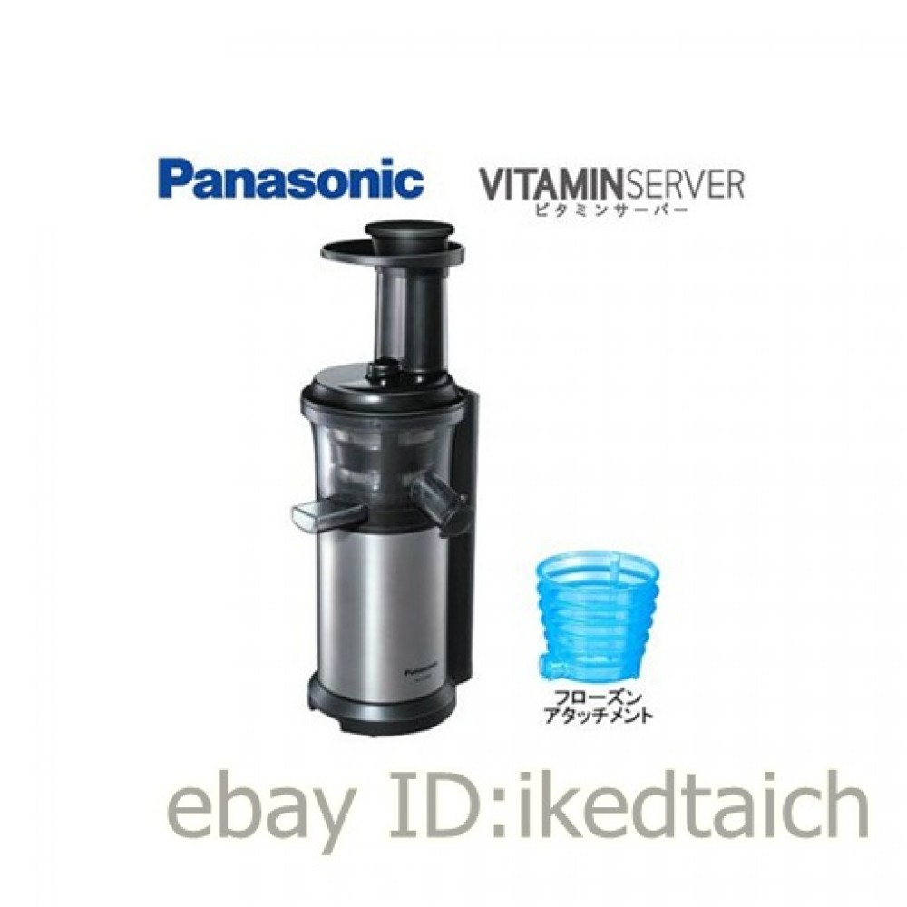 Panasonic Vitamin Server Slow Juicer Silver Mj L500 S : Panasonic vitamin server slow juicer Silver MJ-L500-S JAPAN EMS eBay