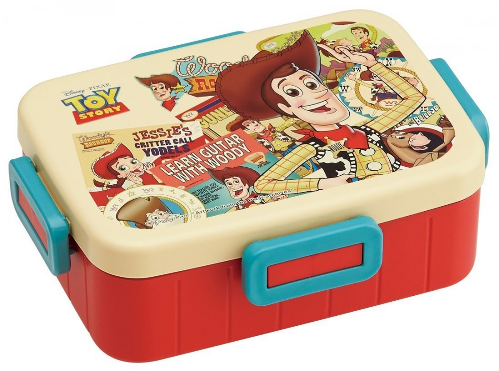 disney pixar toy story woody bento lunch box 650ml from japan new ebay. Black Bedroom Furniture Sets. Home Design Ideas