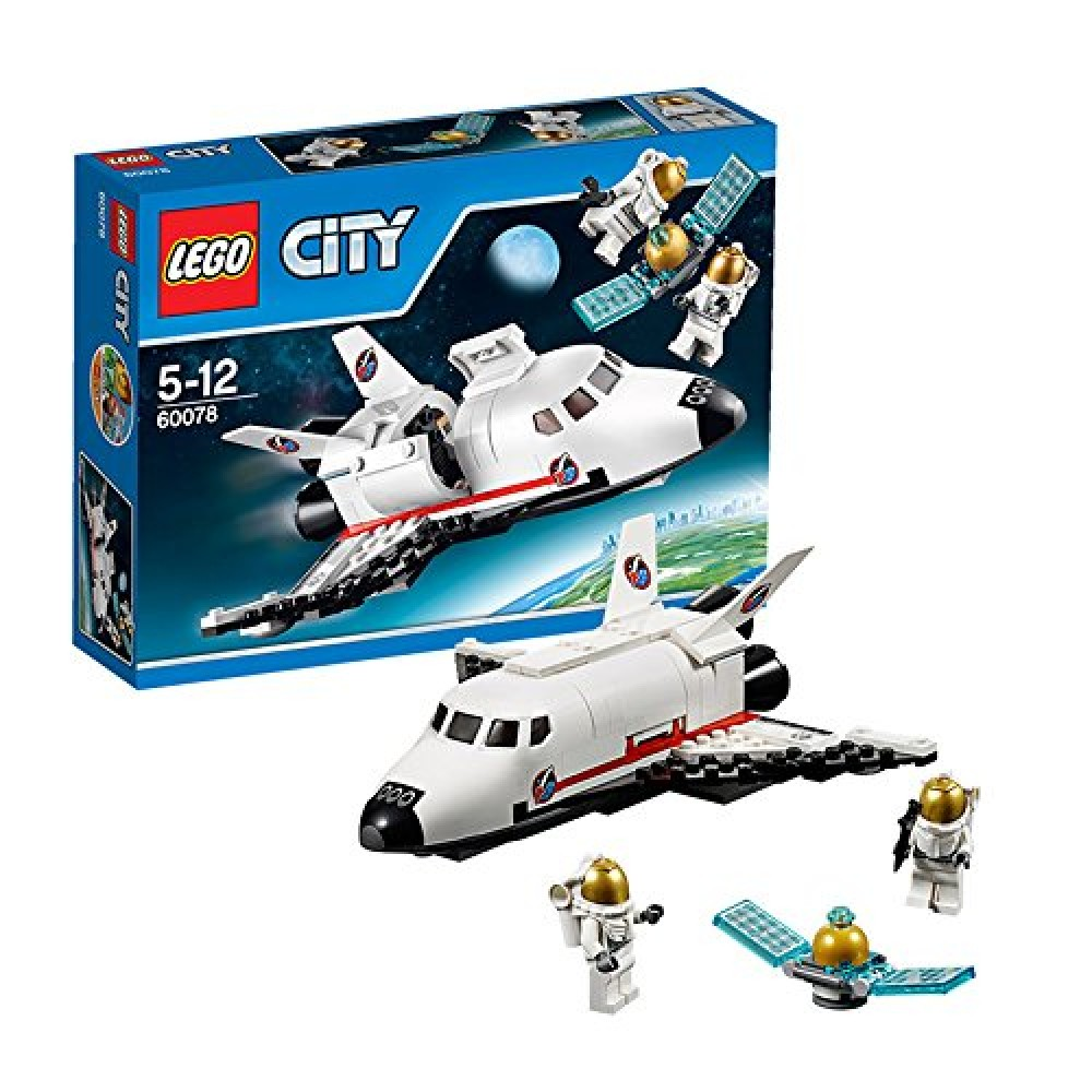 new lego city 60078 utility shuttle space toy japan toy. Black Bedroom Furniture Sets. Home Design Ideas