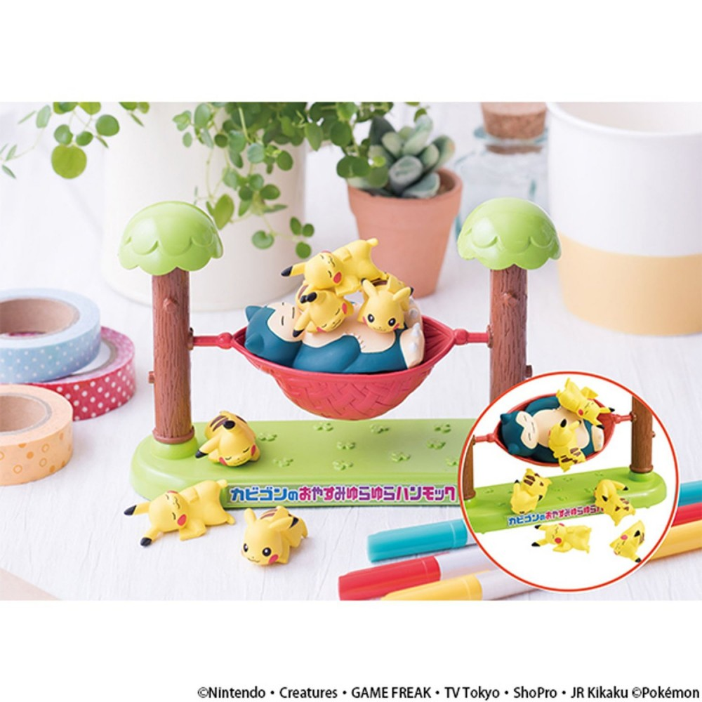 Japanese Toys And Games : New pokemon game factory snorlax pikachu hammock figure