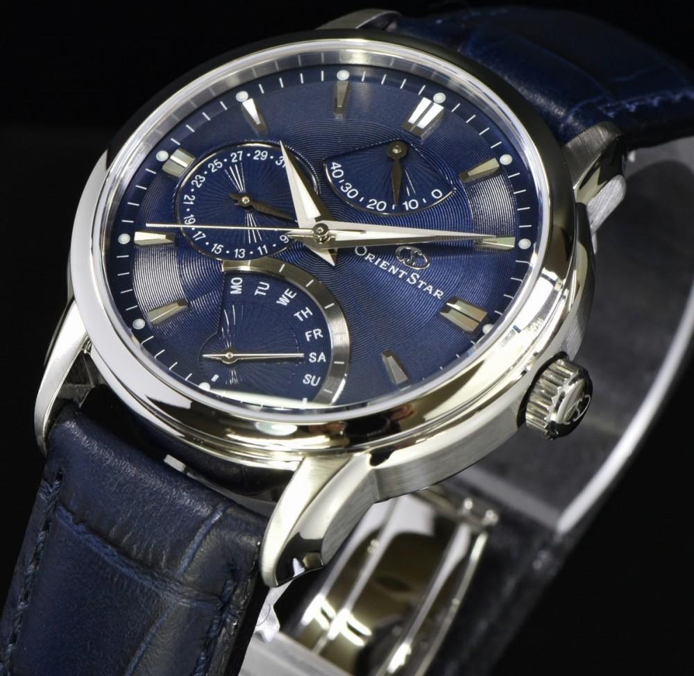 new orient watch orientstar retrograde wz0081de automatic winding f s japan ebay