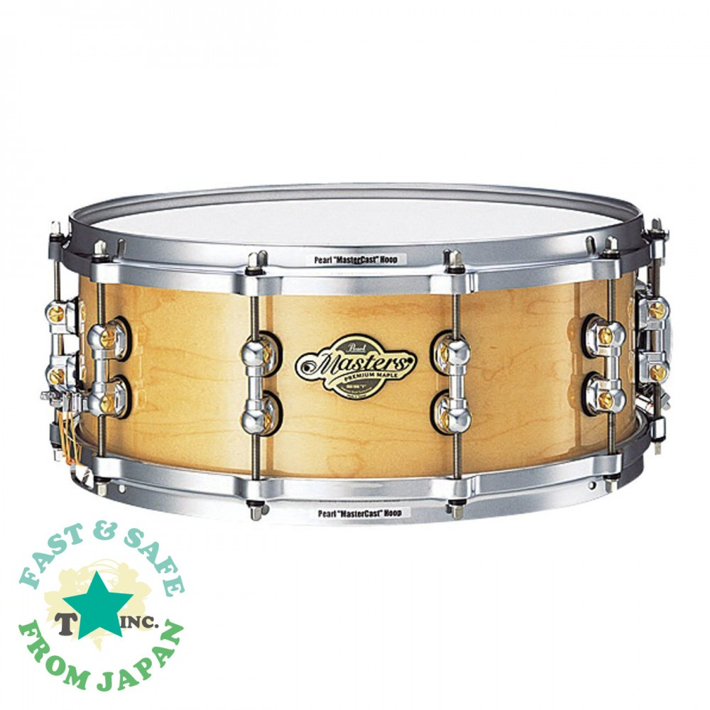 new pearl masters snare drum mrp1455s c 6ply maple ebay. Black Bedroom Furniture Sets. Home Design Ideas