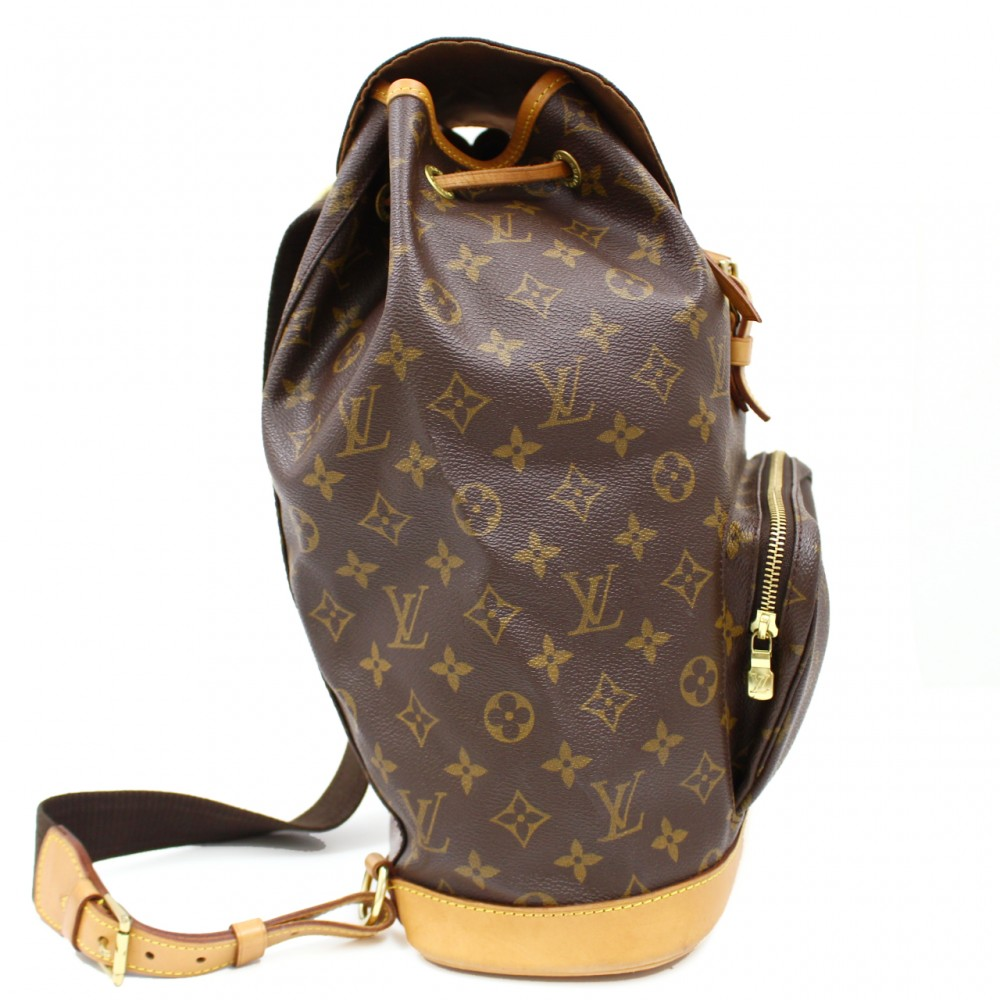 u3116aa authentic louis vuitton montsouris gm big monogram
