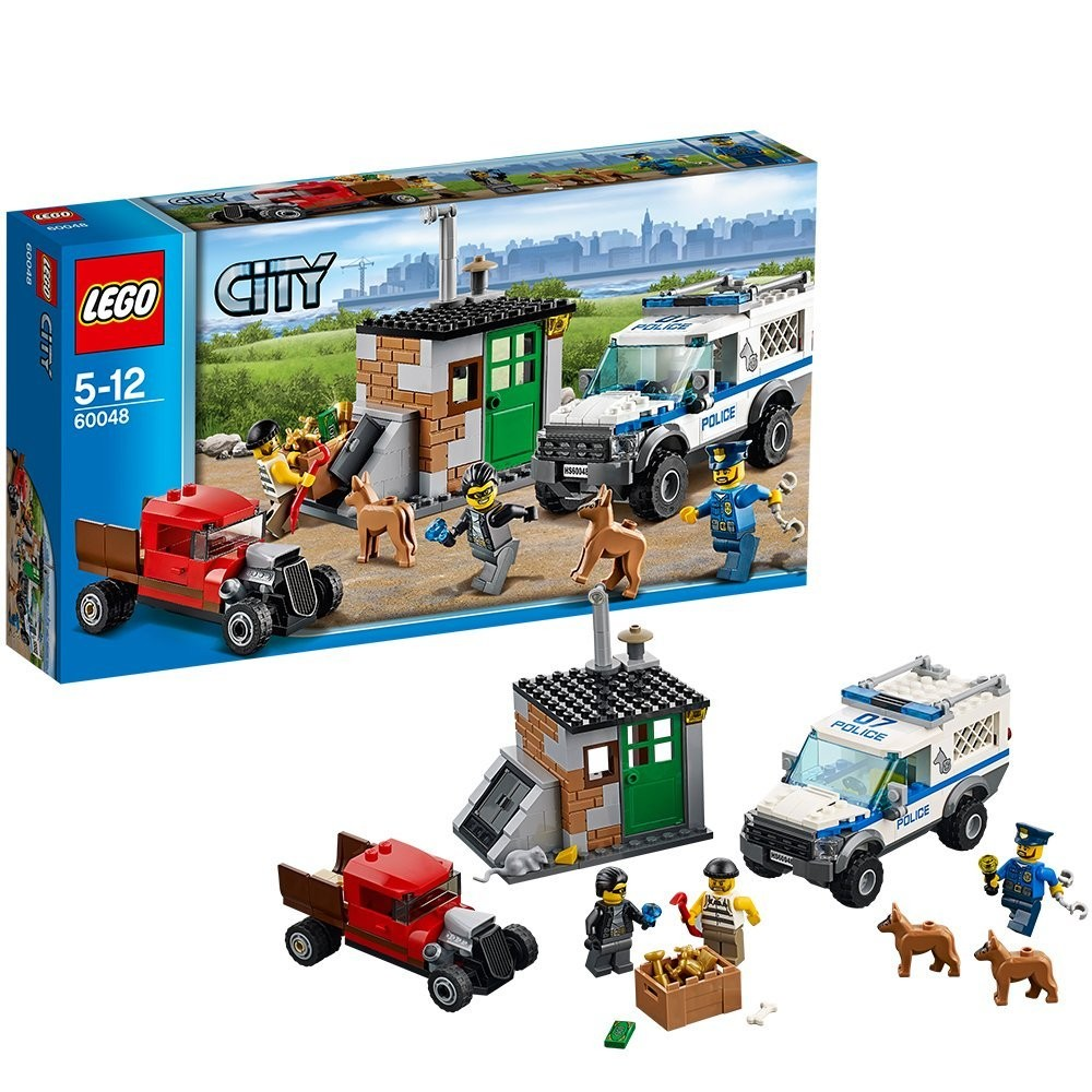 new lego city 60048 police dog unit set ebay. Black Bedroom Furniture Sets. Home Design Ideas