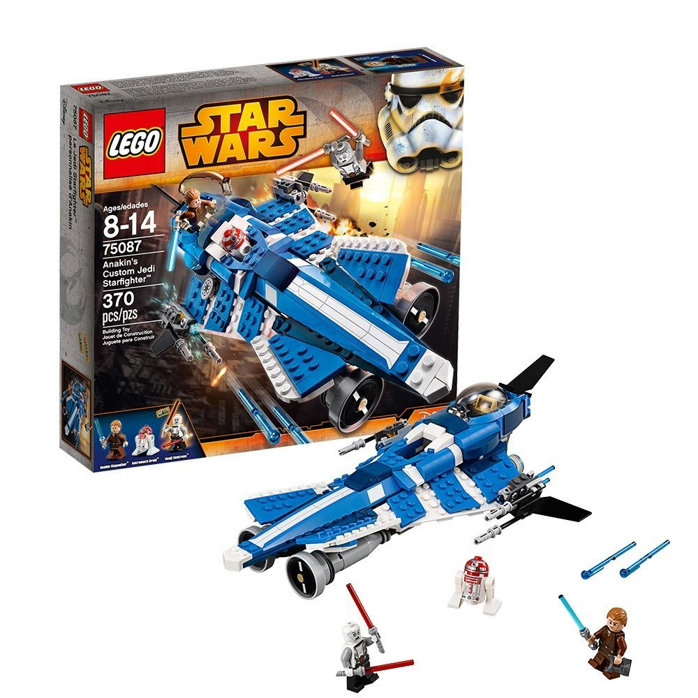 new lego star wars 75087 anakin s custom jedi starfighter ebay. Black Bedroom Furniture Sets. Home Design Ideas