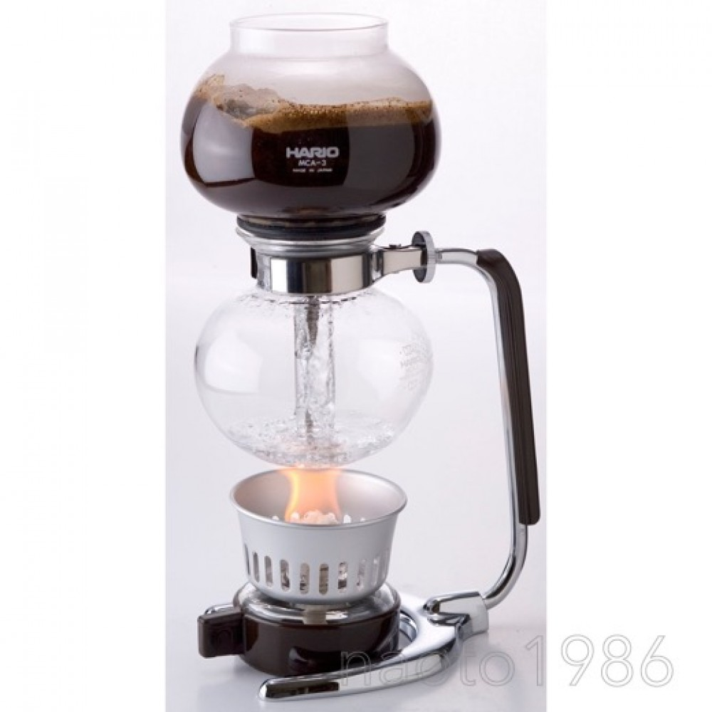 Vacuum Coffee Maker Single Cup : (+Tracking#) HARIO Vacuum Coffee Maker Siphon Syphon MCA-3 3Cup from Japan eBay