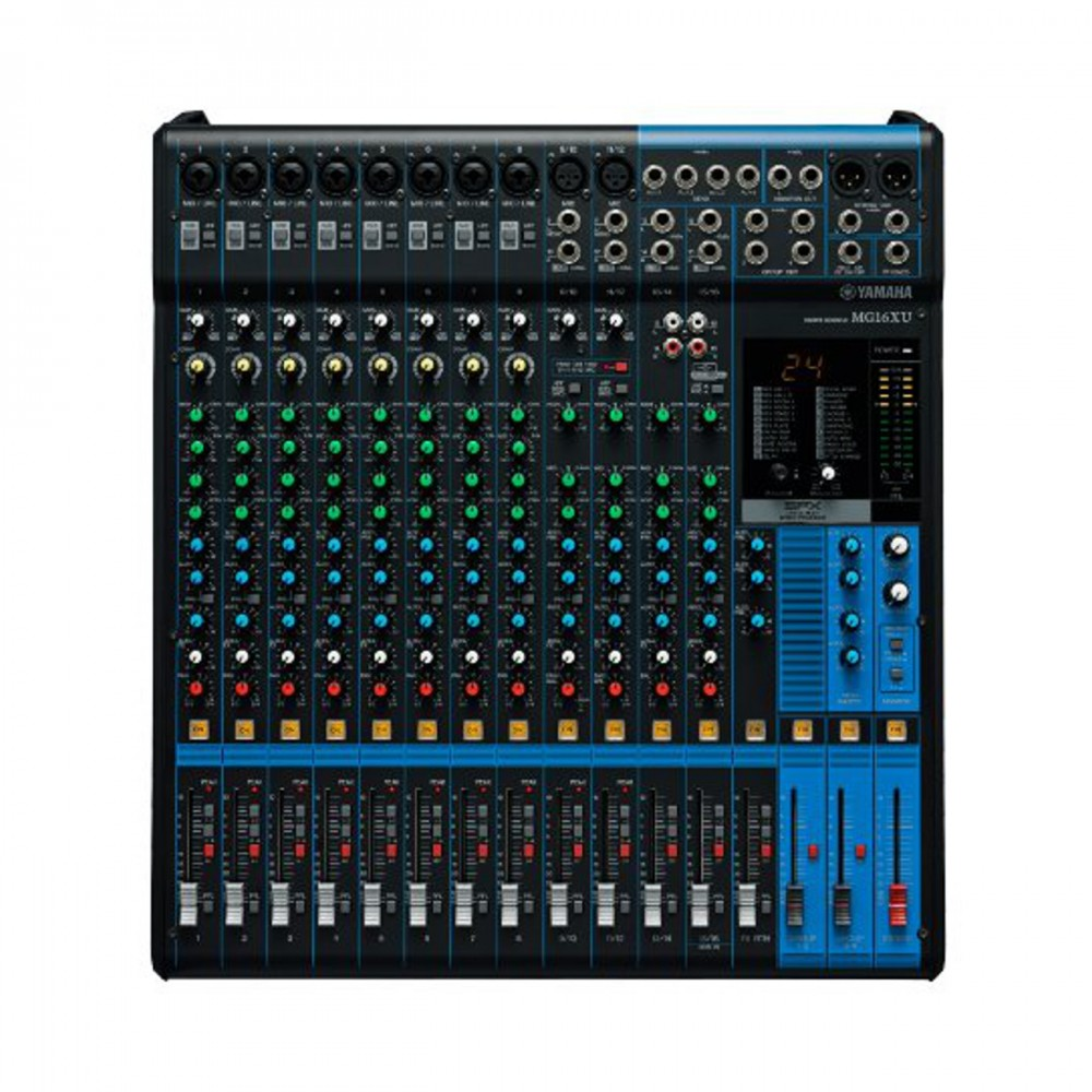 New yamaha mg16xu 16 channel mixer mixicing console interface for Yamaha mg16xu dimensions