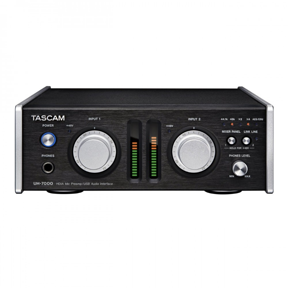 new tascam usb audio interface with hdia mic preamp uh 7000 ebay. Black Bedroom Furniture Sets. Home Design Ideas