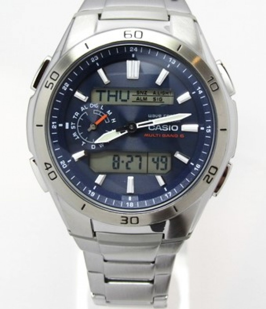 New Casio Wave Ceptor Tough Solar Watch Wva