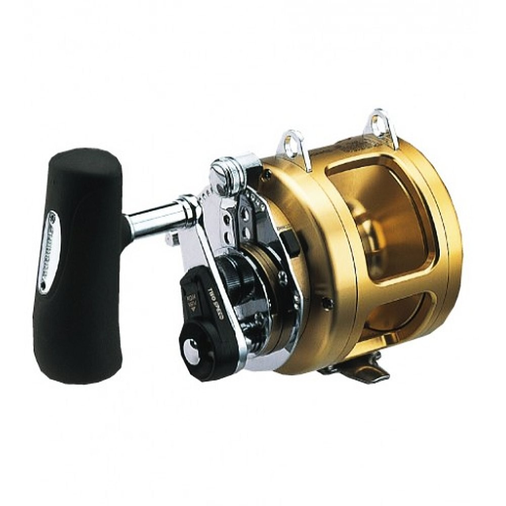 Shimano tiagra big game trolling reel lever drag f s from for Reel fishing game