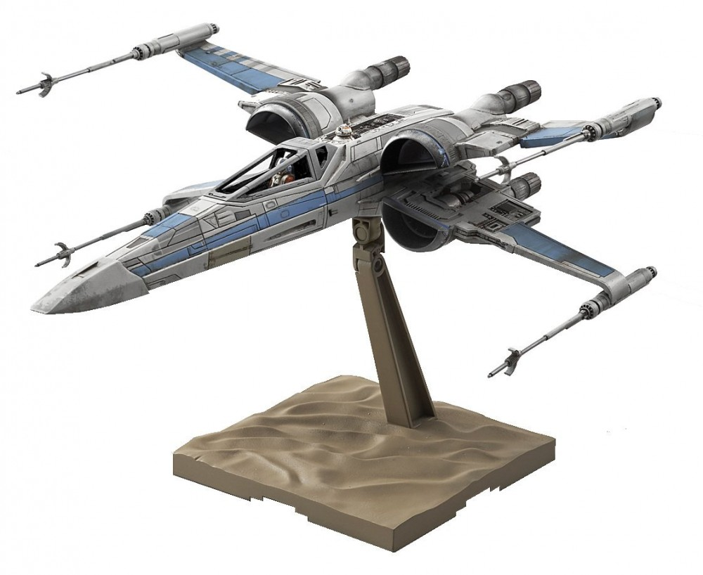 bandai star wars resistance x wing fighter the force. Black Bedroom Furniture Sets. Home Design Ideas