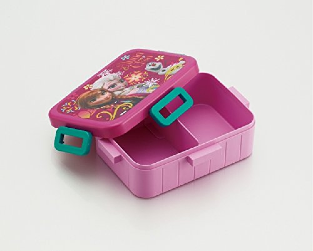 new disney frozen anna elsa bento lunch box 650ml from japan new ebay. Black Bedroom Furniture Sets. Home Design Ideas