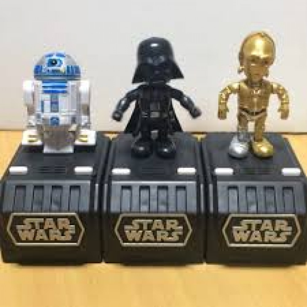 TAKARA TOMY ARTS STAR WARS SPACE OPERA Set Of 3 Darth