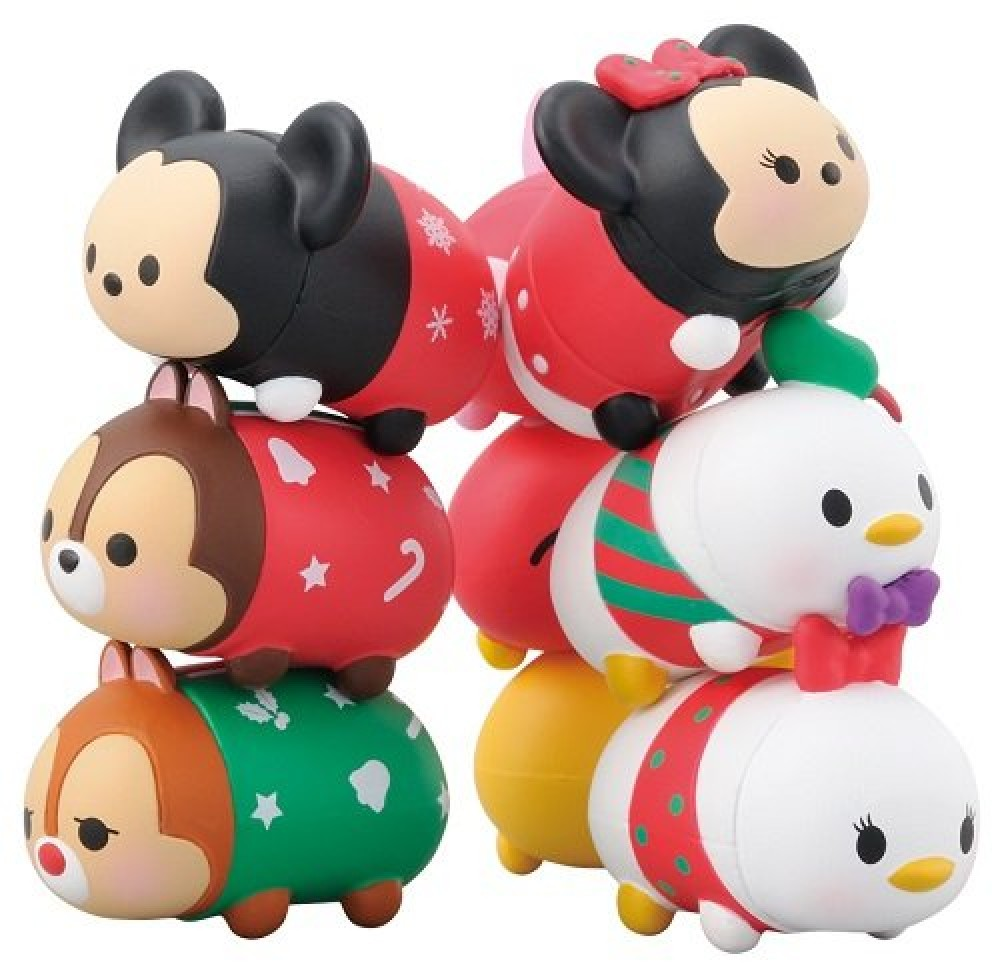 This is a graphic of Challenger Tsum Tsum Characters Names