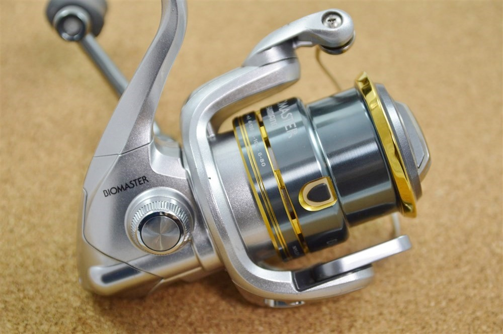 Shimano spinning reel 08 biomaster 2500s fishing made in for Used fishing reels