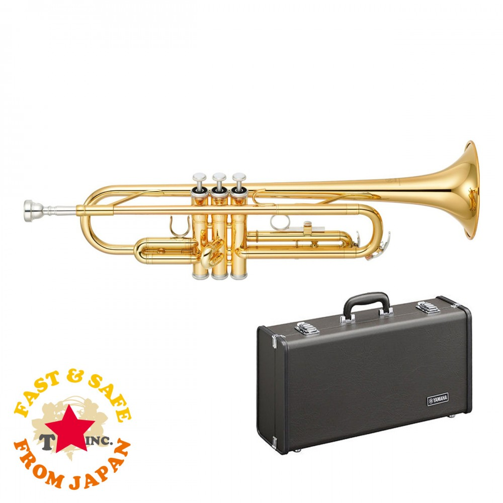 new yamaha ytr 2330 bb trumpet with hard case and mouthpiece. Black Bedroom Furniture Sets. Home Design Ideas
