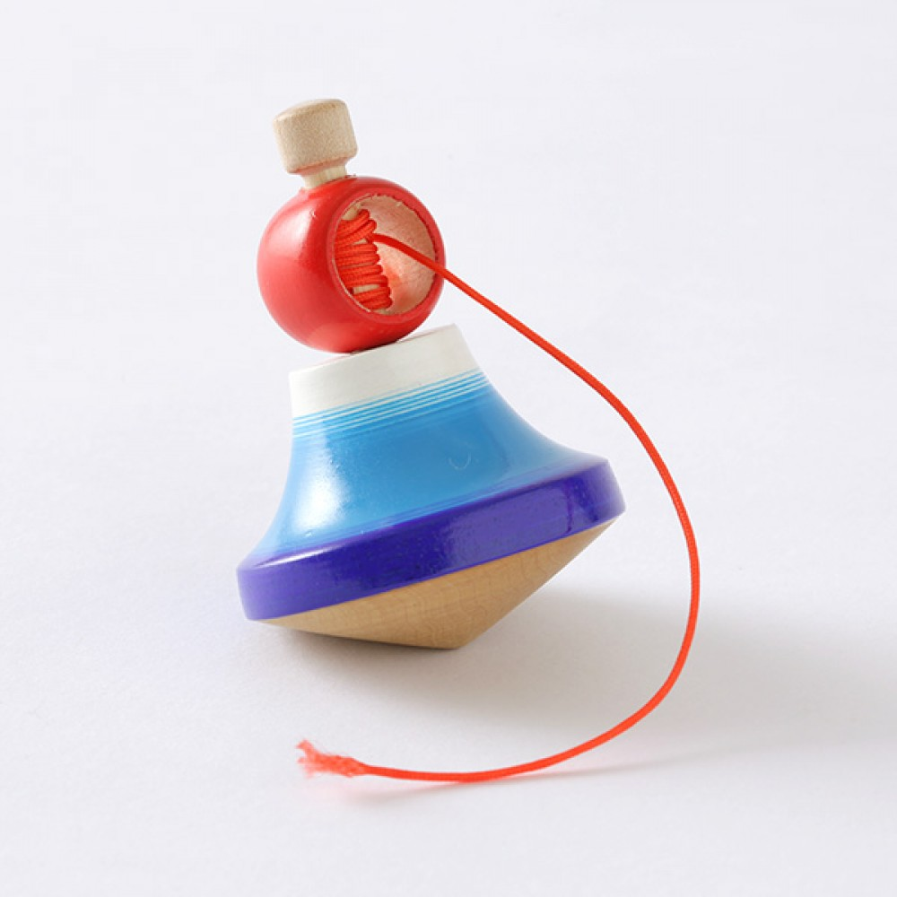 Japanese Toy Tops : Koma japanese handcraft precision spinning top mt fuji