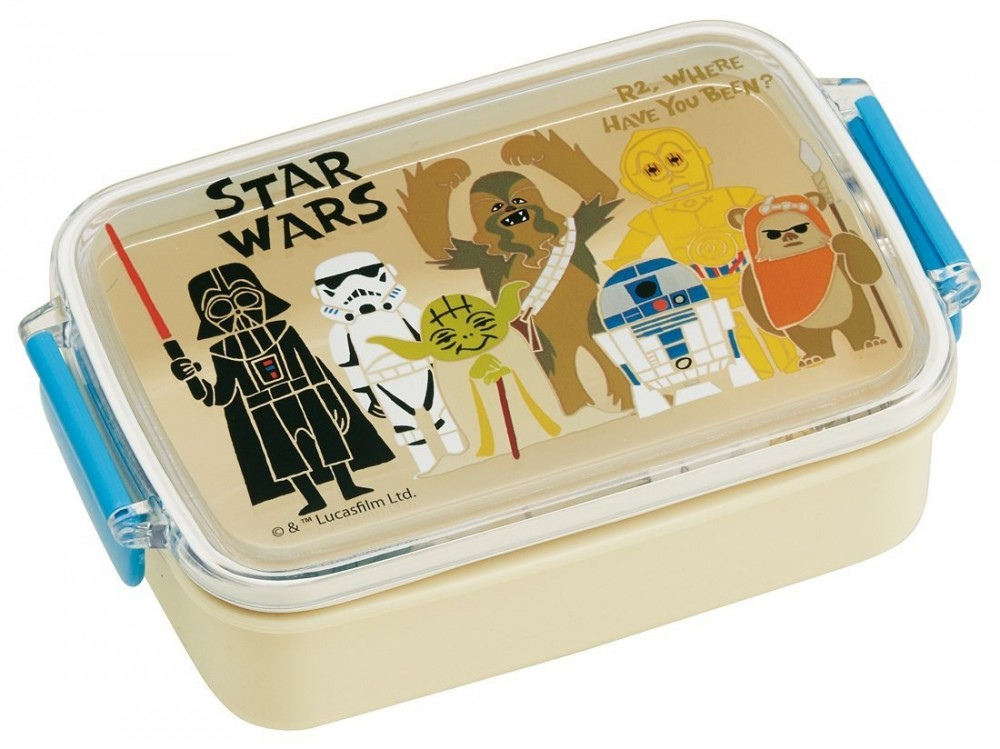 star wars paper cut bento lunch box 450ml from japan new ebay. Black Bedroom Furniture Sets. Home Design Ideas