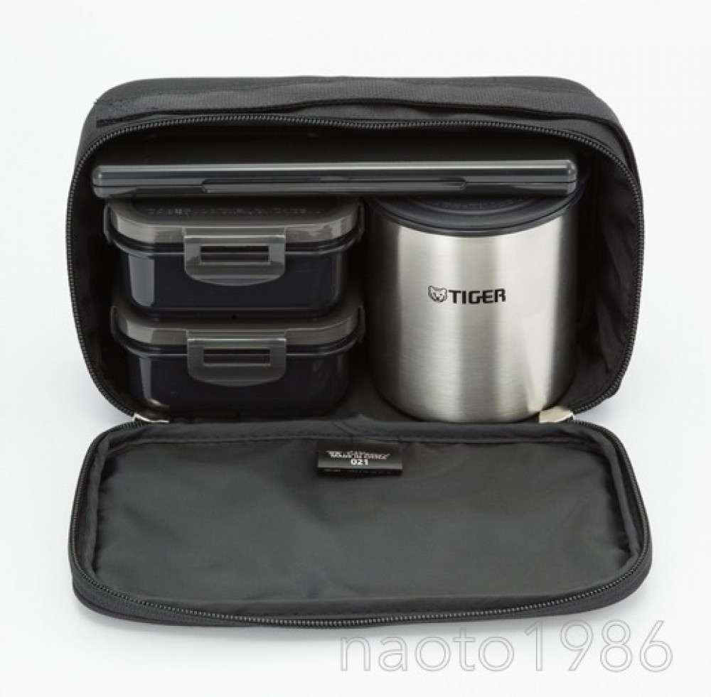 thermos lunch box tiger vacuum stainless steel bento lwy r024 k f s track ebay. Black Bedroom Furniture Sets. Home Design Ideas