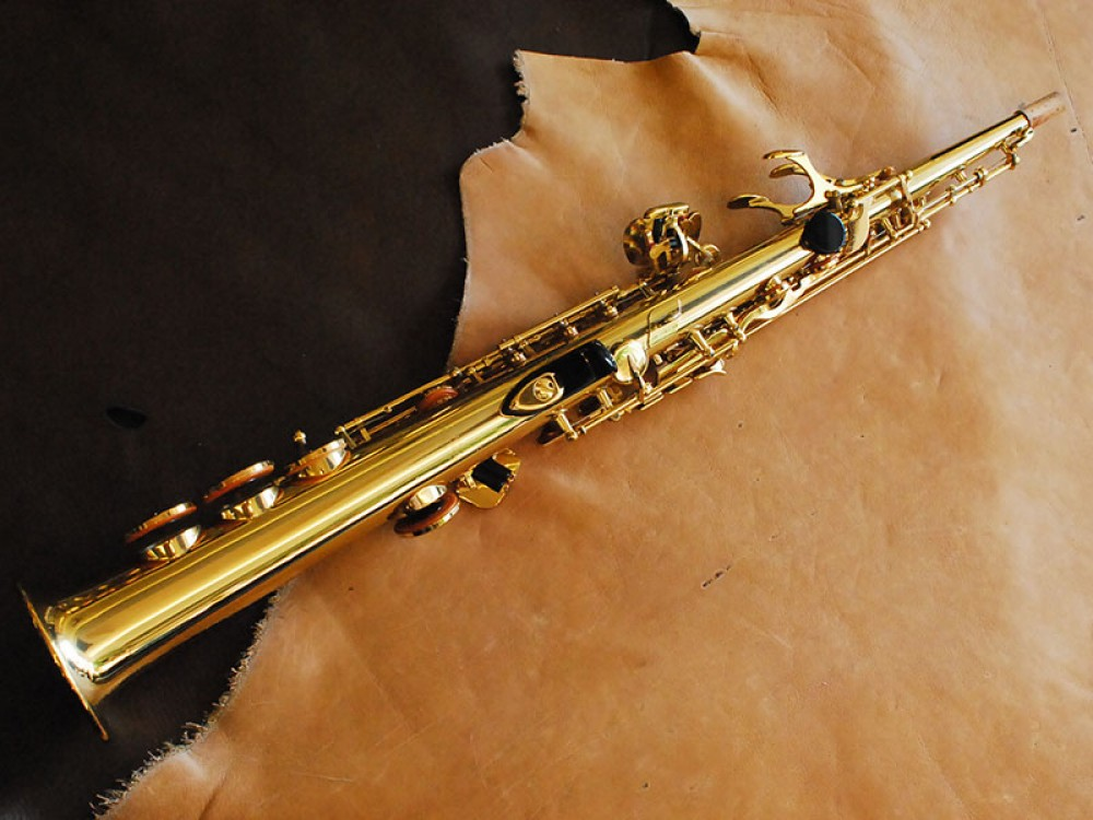 yamaha yss 475 soprano saxophone with hard case from japan