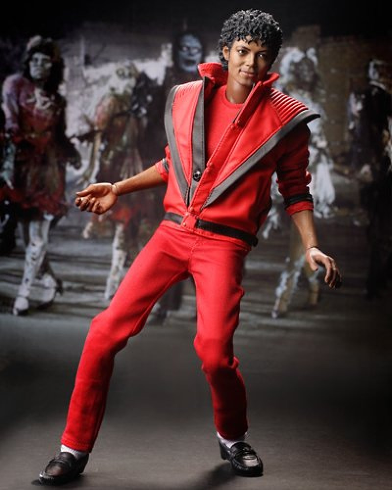 Hot toys japan michael jackson thriller 1 6 scale action for Jackson toys