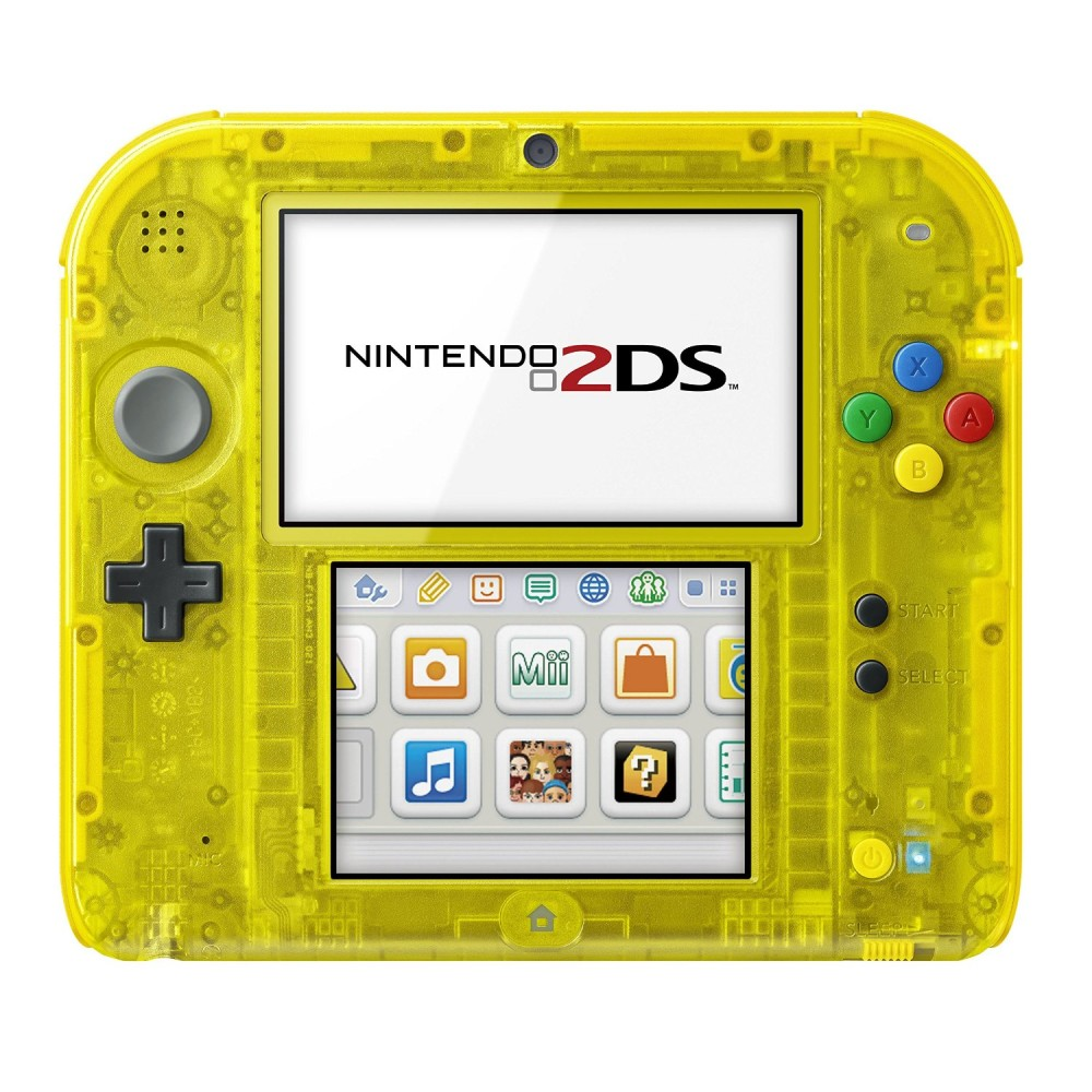2ds pokemon yellow pikachu console nintendo japan center - Can you play 3ds games on 2ds console ...