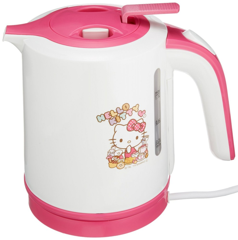Hello Kitty Electric Car Motor: NEW Hello Kitty Electric Kettle 1.1L Sanrio From Japan