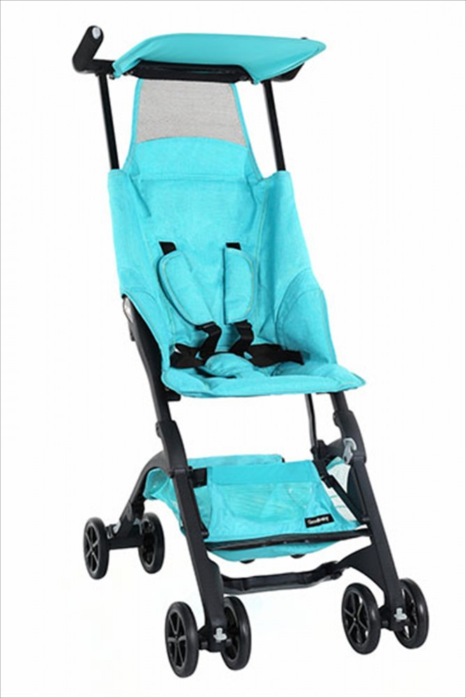 new goodbaby pockit stroller lightweight compact ocean blue japan f s ebay. Black Bedroom Furniture Sets. Home Design Ideas