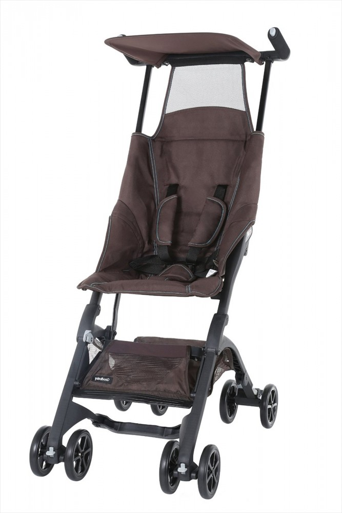 new goodbaby pockit stroller lightweight compact chocolate ebay. Black Bedroom Furniture Sets. Home Design Ideas