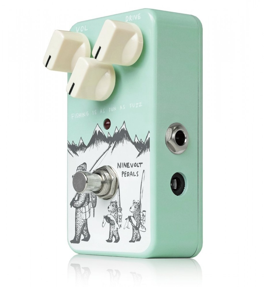 ninevolt pedals fishing is fun as fuzz guitar pedal effect from japan f s new ebay. Black Bedroom Furniture Sets. Home Design Ideas