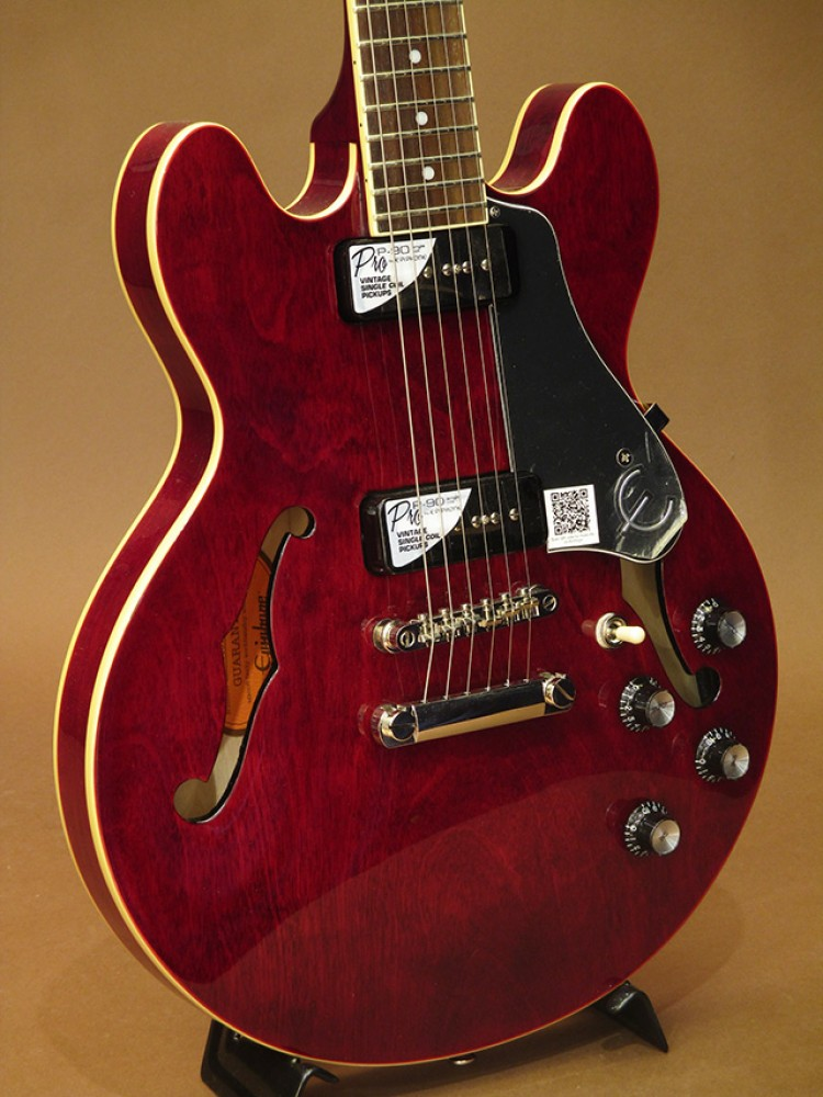 epiphone es 339 p90 pro wr guitar wine red free shipping from japan. Black Bedroom Furniture Sets. Home Design Ideas